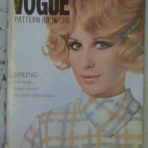 Vogue Pattern Magazine Spring 1968 Large Format