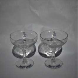 Mid Century Babycham Glasses