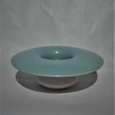 Poole Twintone Posy Vase C104