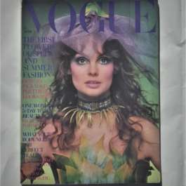 Vogue April 1st 1970. Jean Shrimpton Cover
