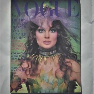 Vogue April 1st 1970. Jean Shrimpton Cover