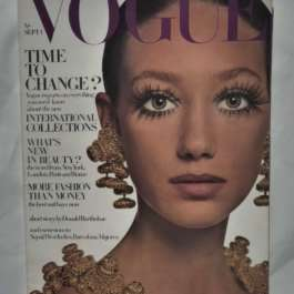 Vogue September 1st 1968. Marisa Berenson Cover